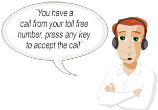 Call announce allows you to distinguish between personal and business calls